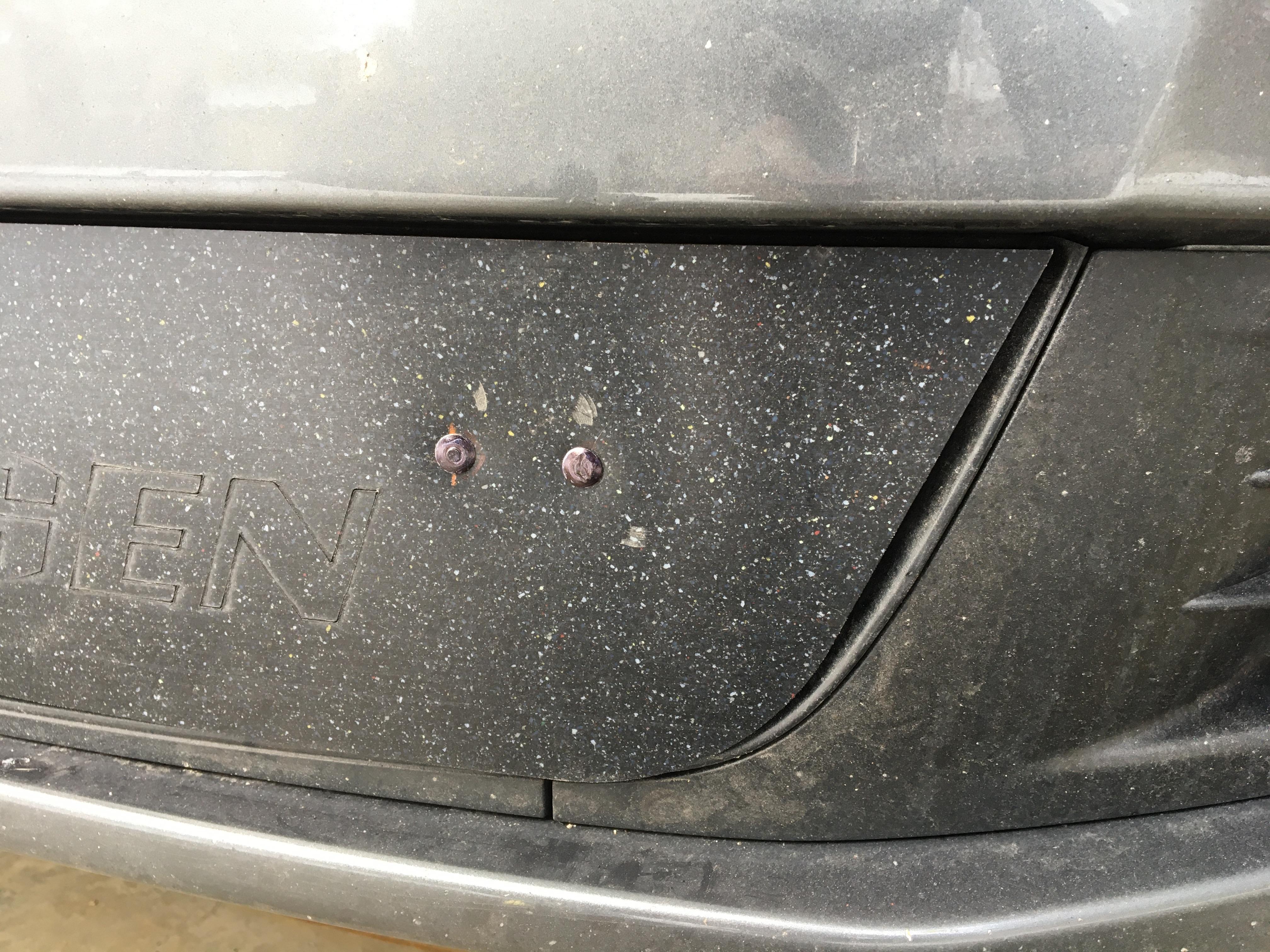 VW Jetta Sportwagen TDI Blockoff Panel (Mk6 2010-2014)